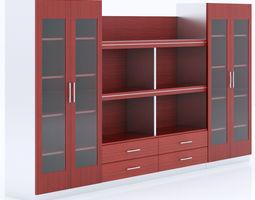 merx zeus bookcases 3d