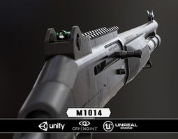 VR / AR ready m1014 - model and textures