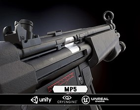 MP5 - Model and Textures 3D asset