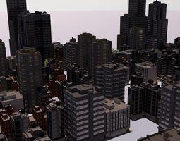 3D City large scale