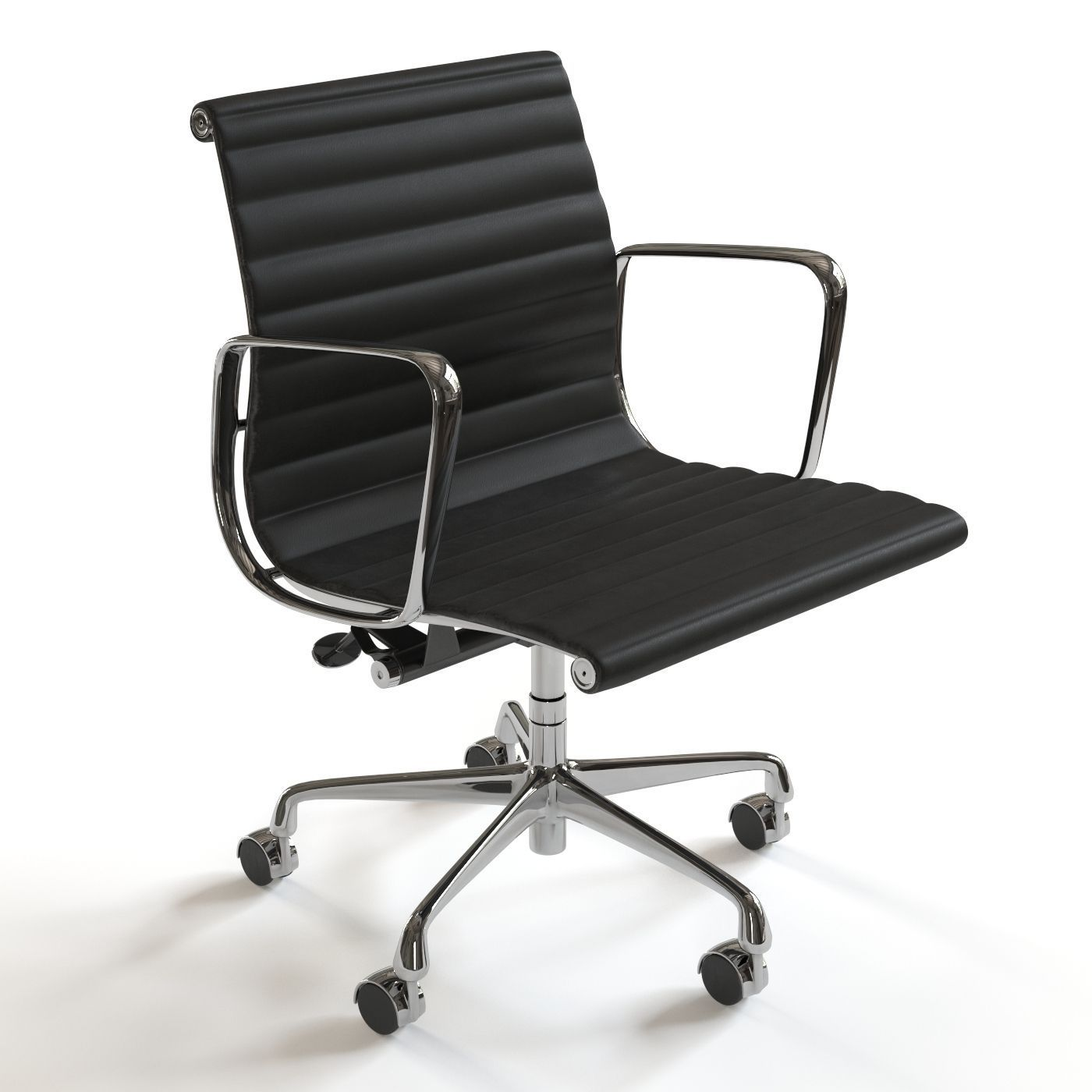 Herman Miller Eames Management Chair 3d Model Max Fbx 1 ...