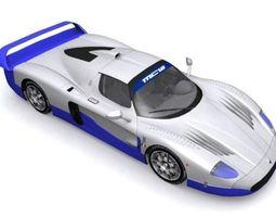 Maserati MC-12 3D Model