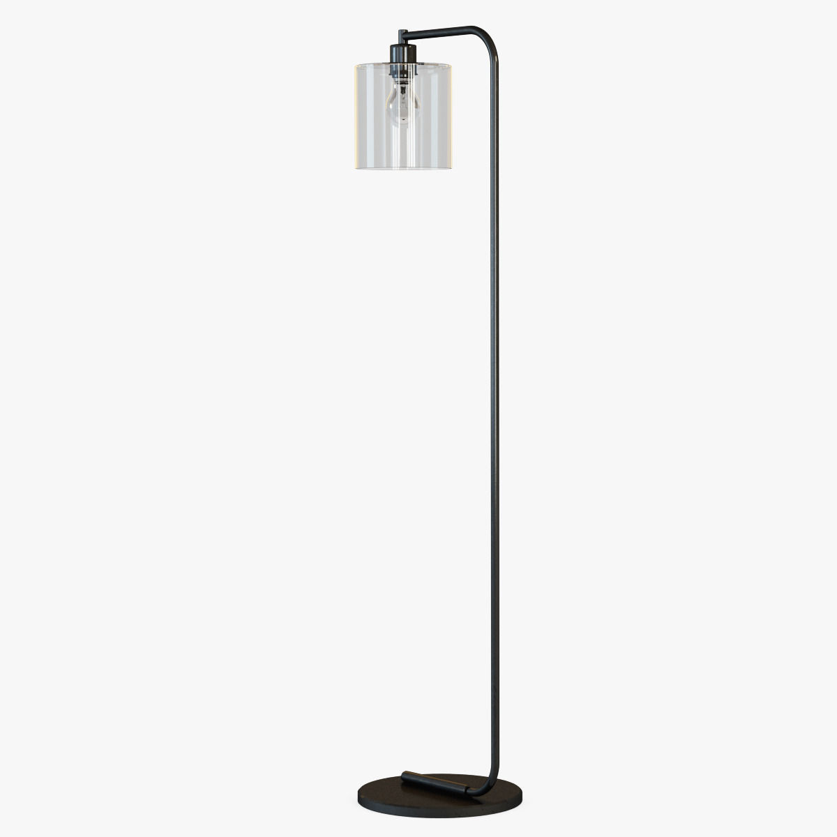 Lens Floor Lamp 3d Model Max Obj Fbx Mtl Cgtrader Com