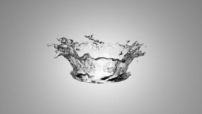 3D Splash Water