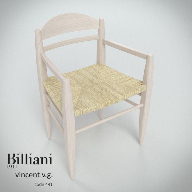 Billiani Vincent VG armchair rope