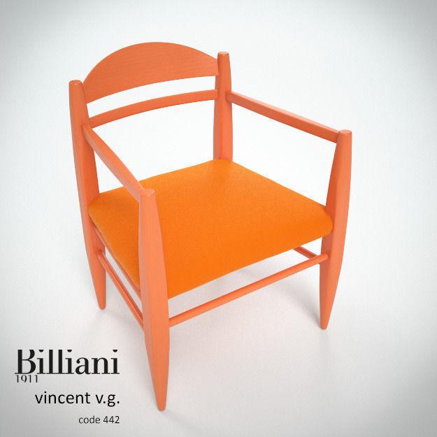 Billiani Vincent VG lounge chair