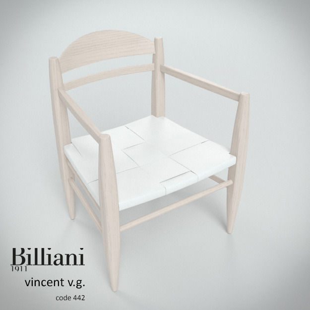 Billiani Vincent VG lounge chair white