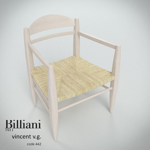Billiani Vincent VG lounge chair rope