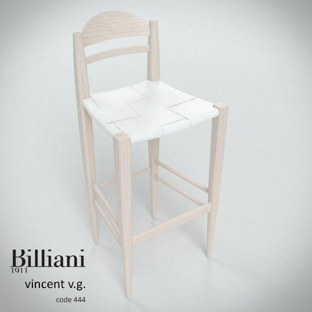 Billiani Vincent VG stool 444 white