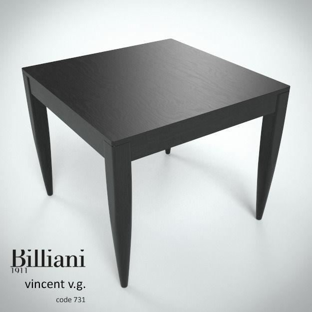 Billiani Vincent VG table