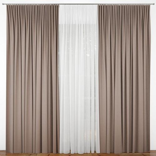 Interior Curtain 3d Cgtrader