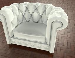 Armchair Frau by Gus 3D model