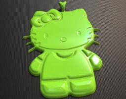 3D Pretty HelloKitty