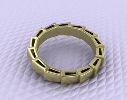 3d printable model dragon ring