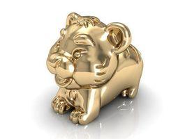 12 animal tiger 3d printable model