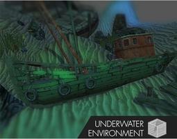 PA Underwater Environment 3D model