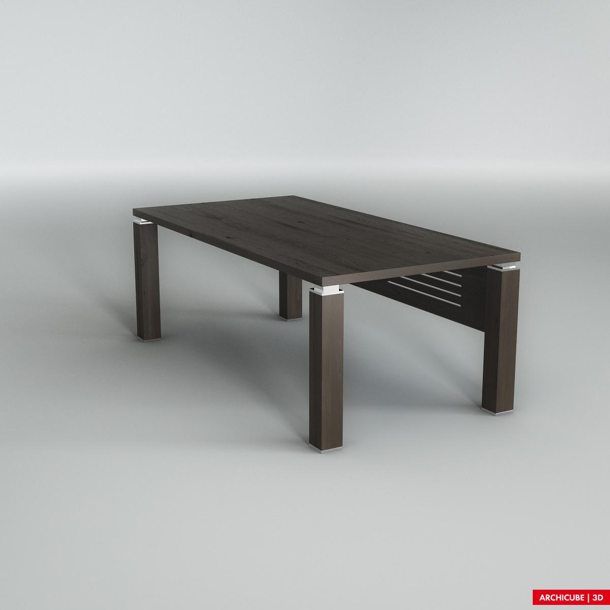 Table 3d model max obj fbx for Table 3d model
