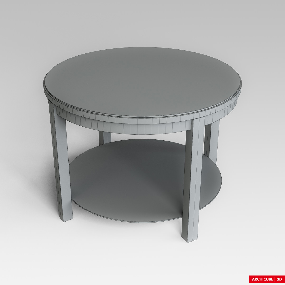 Coffee table 3d model max obj fbx for Coffee table 3d model