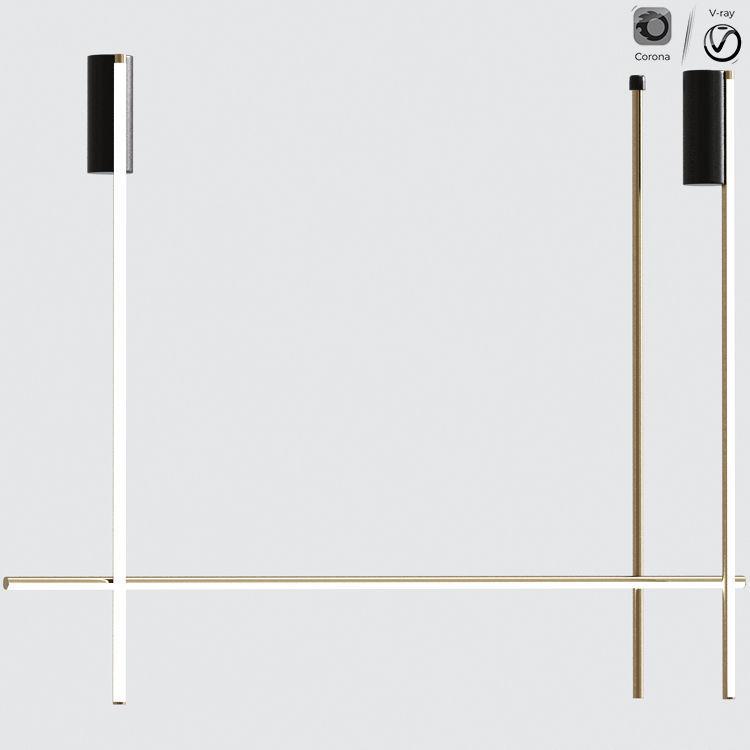 FLOS Coordinates C2 LED ceiling lamp Collection