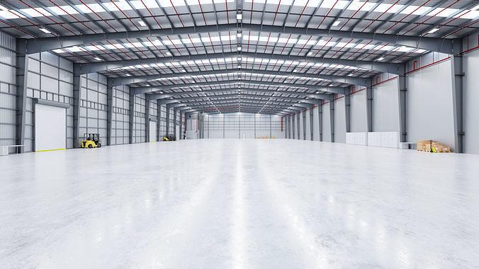 Industrial Warehouse Interior 13