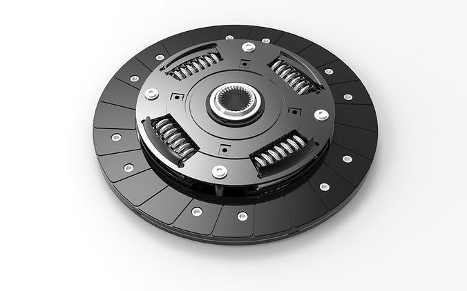 Clutch With Fly-Wheel