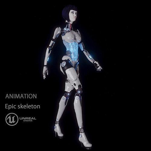 cyborg girl LUCY