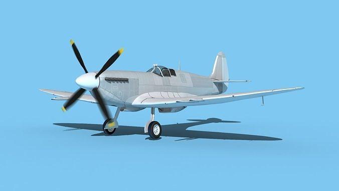 Supermarine Spitfire MK XII V00