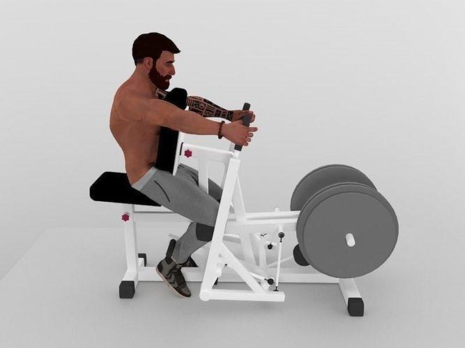 Lat workout