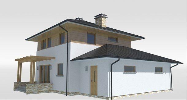 Bambo House 3D Model