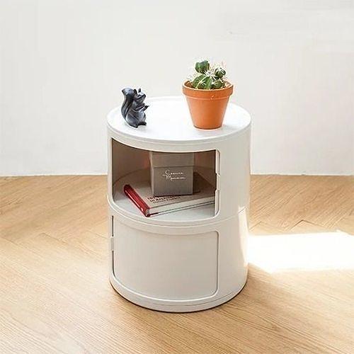 Genie round storage cabinet
