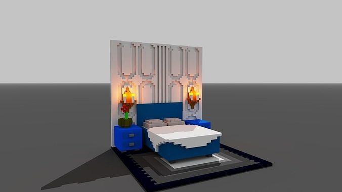 Voxel Bedroom