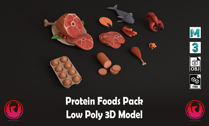Protein foods pack