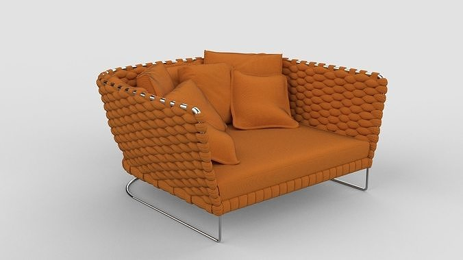 Paola Lenti Ami Sofa Orange