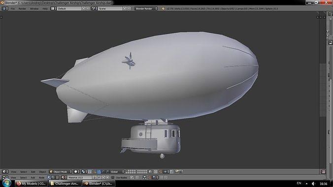 Challenger Airship
