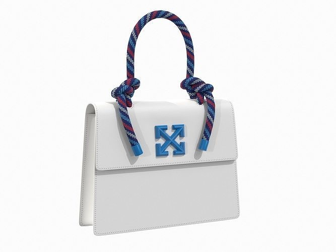Off-White Bag Jitney Gummy White Blue