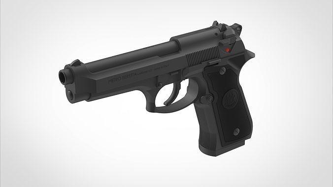 Pistol Beretta 92FS