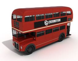 3D model Double Decker Bus