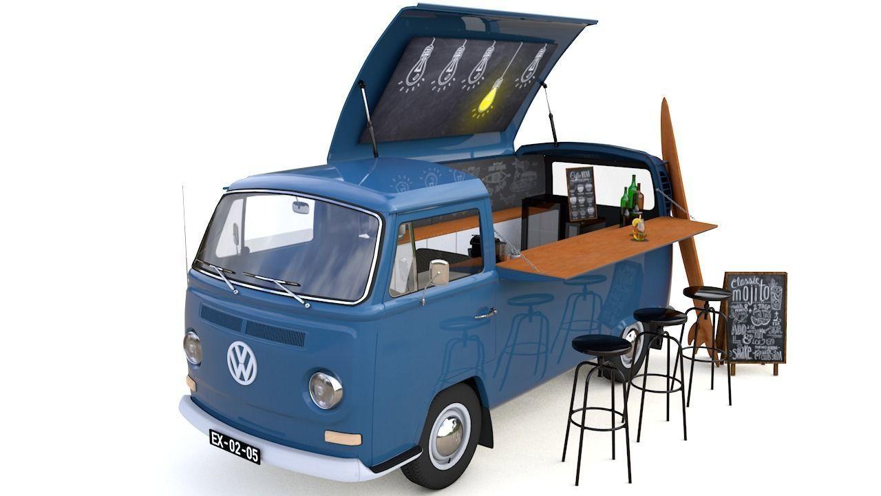 VW T2 FOOD AND COFFEE VAN 1974