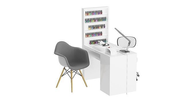 Manicure table BLENDER 3D Model Cycles