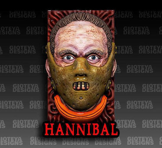 Hannibal Lecter Magnet