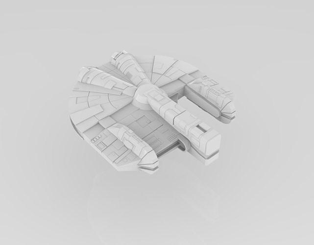 Ebon Hawk - Armada Scale