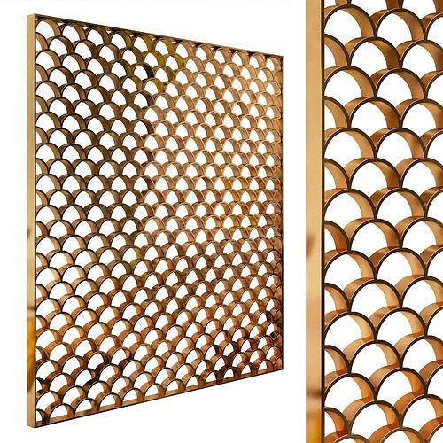 Decorative partition set 93
