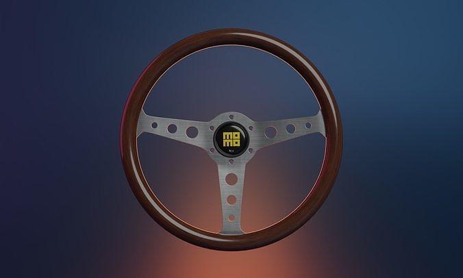 MOMO Wooden Indy Heritage Wheel
