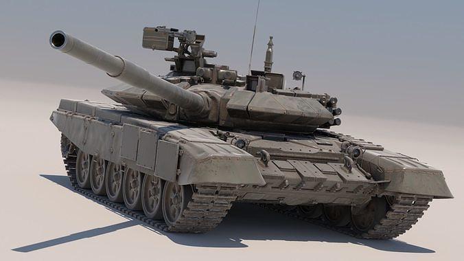 T-90  Russian main battle tank