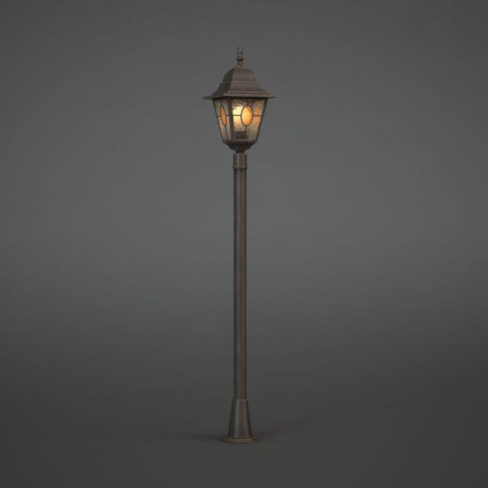 vintage street light lantern 3d cgtrader