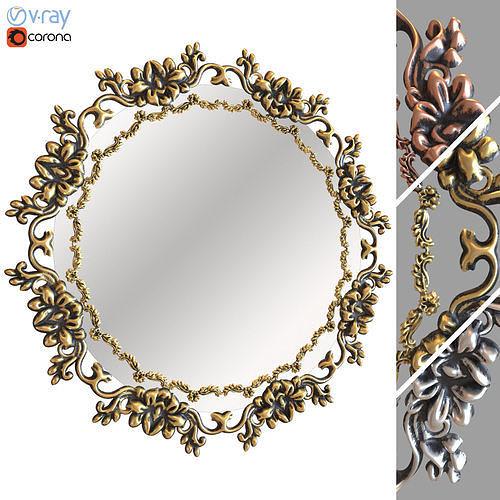 Ornamental Mirror 03