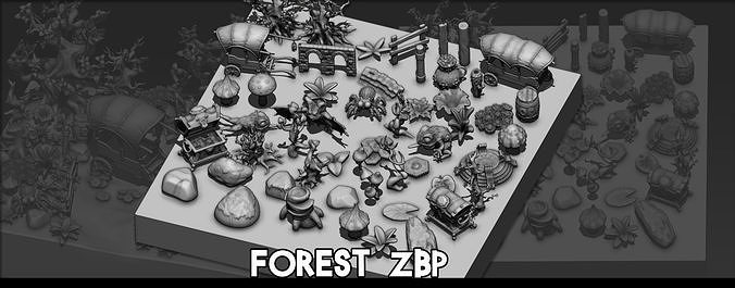 Forest Zbrush ZBP