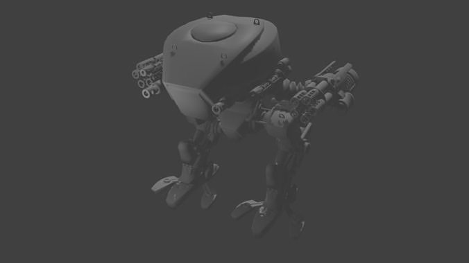 Military Remote mech