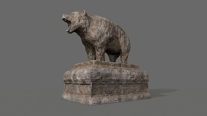 Bear Statue 4