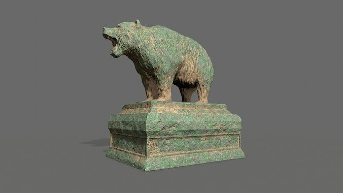 Bear Statue 7